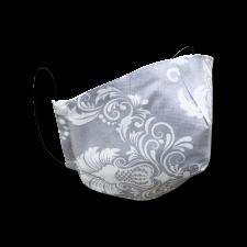 Защитная многоразовая маска Трехслойная с карманом серая